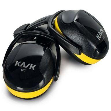 KASK SC2 Hörselskydd gul, medium dämpning