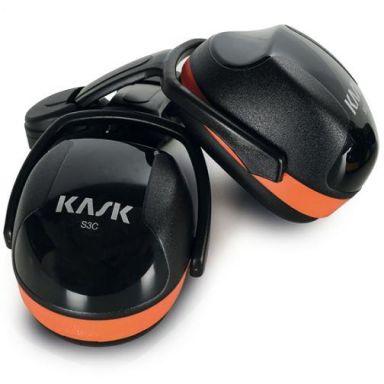 KASK SC3 Hörselskydd orange, hög dämpning