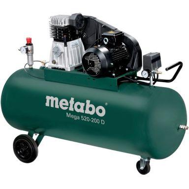 Metabo Mega 520-200 D Kompressor 200 liter