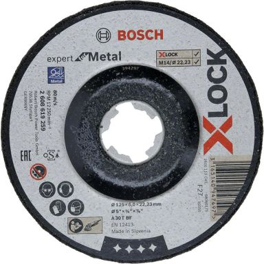 Bosch Expert for Metal Slipeskive X-LOCK