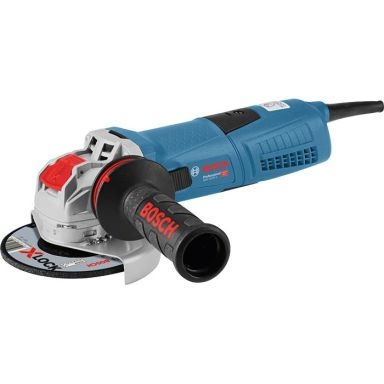 Bosch GWX 13-125 S Vinkelslip med X-LOCK och hantverkarväska, 1300 W
