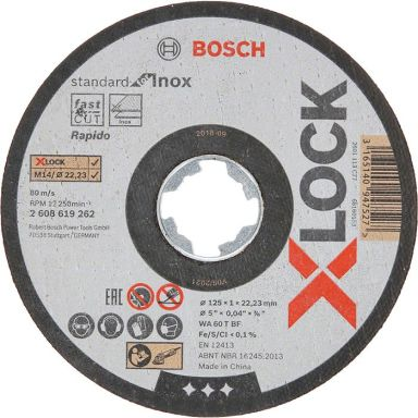 Bosch Standard for Inox Katkaisulaikka X-LOCK