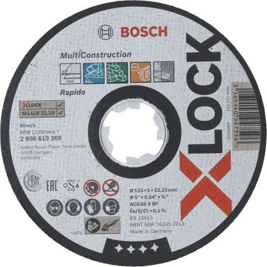 Bosch Multi Construction Kappskive X-LOCK