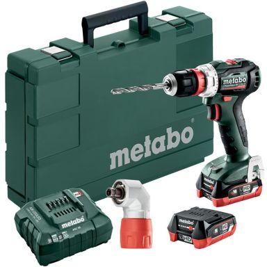 Metabo POWERMAXX BS 12 BL Q Porakone-ruuvinväännin sis. akut ja laturin