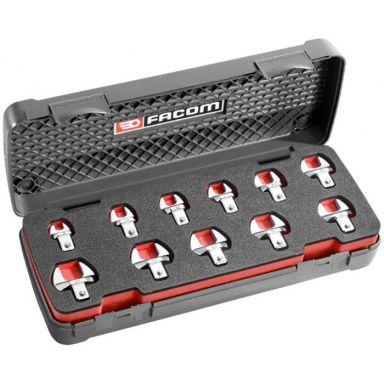 Facom 10.J11 U-nyckelsats 9 x 12 mm, med insticksfäste