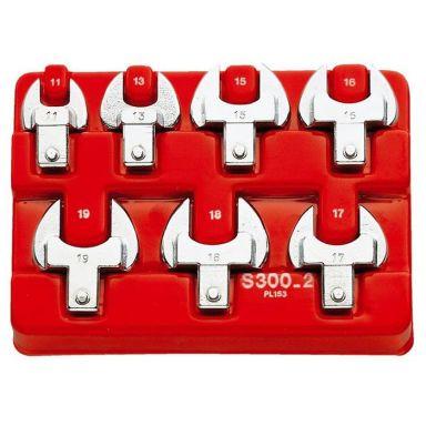 Facom S.300-12 U-nyckelsats 7 st, med insticksfunktion