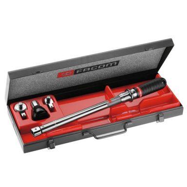 """Facom R.300B Momentnyckelsats 1/4"""", nyckel, hylsa och spärr"""