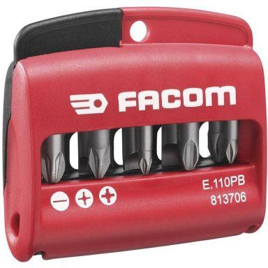 Facom E.110PB Ruuvikärkisarja kotelossa