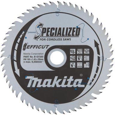Makita B-57320 Sirkelsagblad Efficut, Ø 165 mm