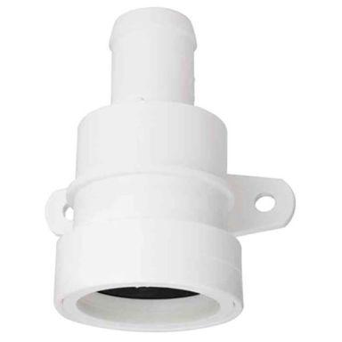 Gelia 3000730962 Anslutningsnippel för tvättmaskiner, 32 mm rör
