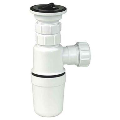 Gelia 3000920422 Pungvannlås plast, med bunnventil, for 32 mm rør