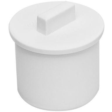 Faluplast 3003054012 Propp för muff, vit, 32 mm