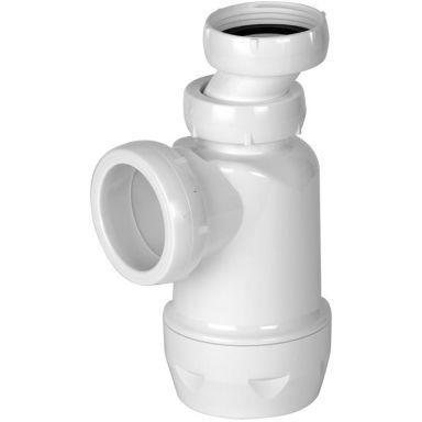 Faluplast 3003060182 Pungvattenlås plast, sidoutlopp, utan rör