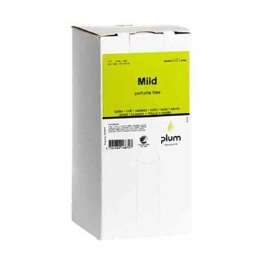 Plum Mild Håndsåpe uparfymert, 1400 ml, bag-in-box