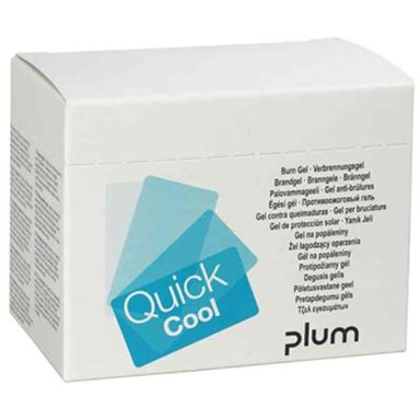 Plum QuickCool Brännskadegel 18 st