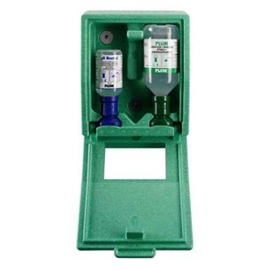 Plum Combibox Ögonduschstation med 200 ml pH Neutral & 500 ml ögondusch