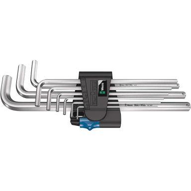 Wera 950/9 L Hex-Plus HF 1 Vinkelskrutrekkersett 9 deler, holderfunksjon