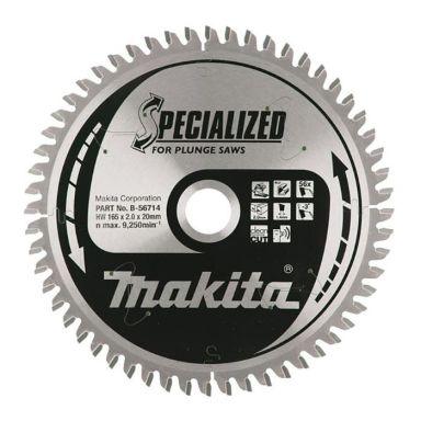 Makita B-56714 Sahanterä 165 mm, 56T