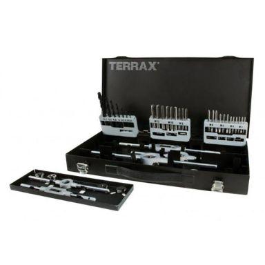 Ruko A245030 Gängsats 44 delar, i plastlåda Terrax