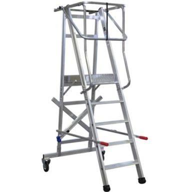 Laggo 7100 Arbetsplattform med skyddsräcke och hjul