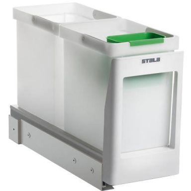 Stala EkoLine EKO2-1 Avfallssorteringssystem 495 x 320 x 195 mm