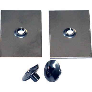 Design4Bath TBD-0100 Montagebricka för vägg/täckbricka, 2-pack