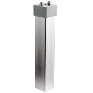 Ifö Sense Støtteben aluminium, 2-pakke