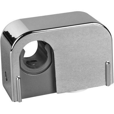 Faluplast 14105 Rörklammer krom, enkel, med snäpplock, 12/15 mm