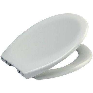 Arrow Rubinett Soft WC-sits vit, med mjukstängning