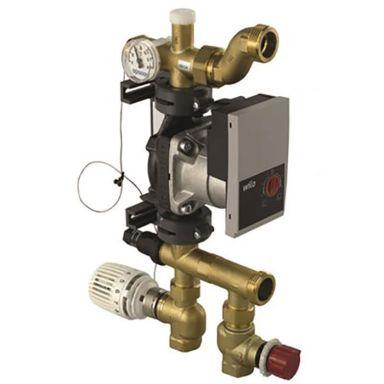 Uponor Fluvia T Push-23-B-W Pump- och shuntgrupp