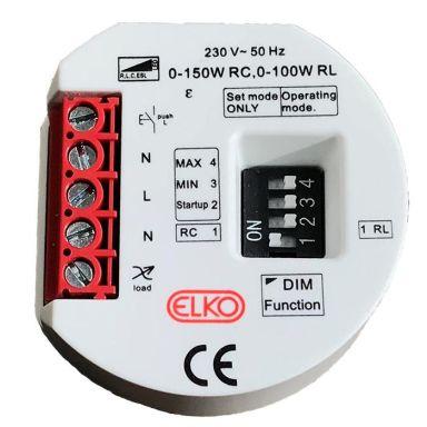 Elko 1363242 Dimmerpuck 3-tråds, 0–150 W LED