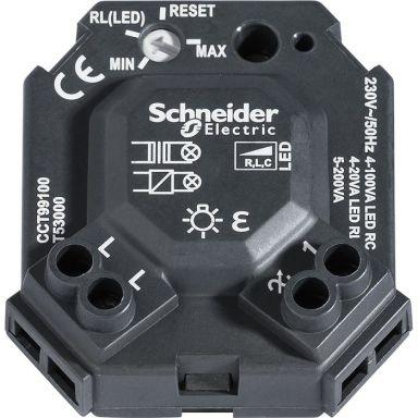 Schneider Electric WDE008301 Dosdimmer universal, 4-100 W