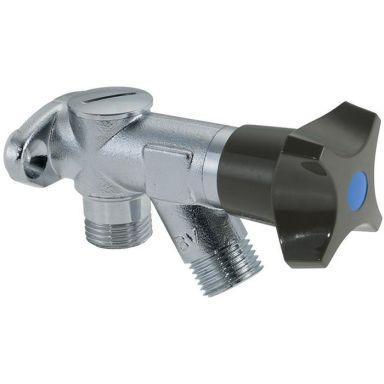 Mora 400289 Tappventil för vägg, med backventil, G15