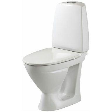 Ifö Sign 686206517 Toalettstol med mjuksits, enkelspolning