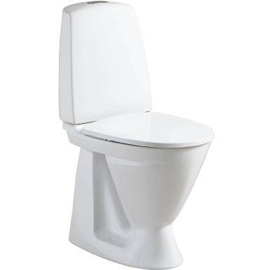Ifö Sign 68610631100010 Toalettstol hög, med hårdsits soft-close, för limnin