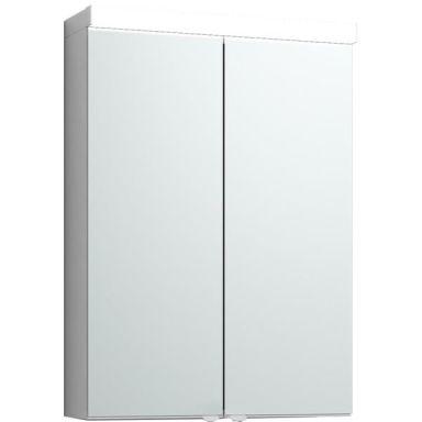 Svedbergs Intro 50 Kit Badrumsskåp 50 cm, vit