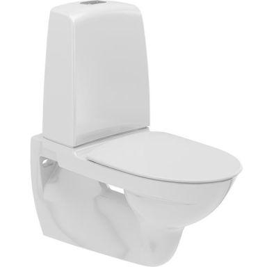 Ifö Spira 629308897 Toalettstol vägghängd, med mjuksits, enkelspolning