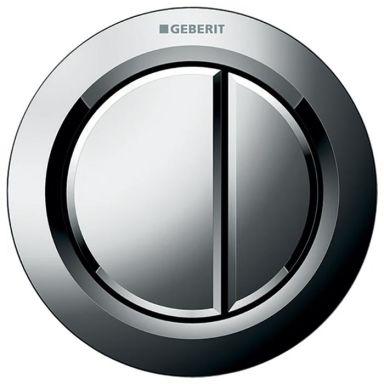 Geberit Omega 01 Remote Tryckknapp blankförkromad