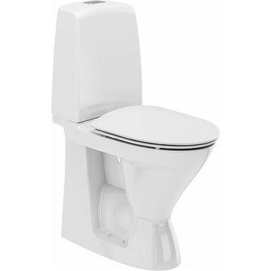 Ifö Spira 626109311010 Toalettstol høy, med hardt sete soft-close, for liming