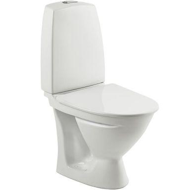 Ifö Sign 683206511 Toalettstol kort modell, med mjuksits
