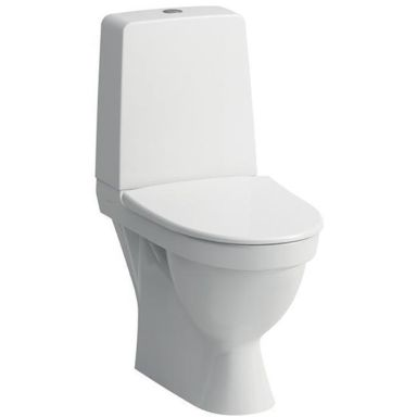 Laufen Kompas Rimless Toalettstol med mjuksits