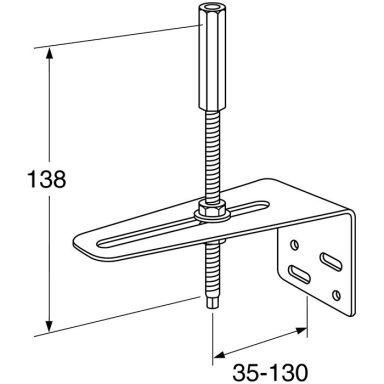 Gustavsberg GB41638457 Stabiliseringsstag för köksblandare