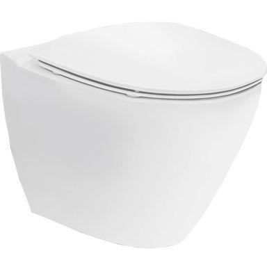 Ifö Spira Art 624509309 WC-skål vägghängd, med hårdsits, soft-close