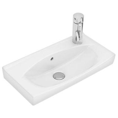 Ifö Spira 15087 Tvättställ 51,5 cm, kranhål höger