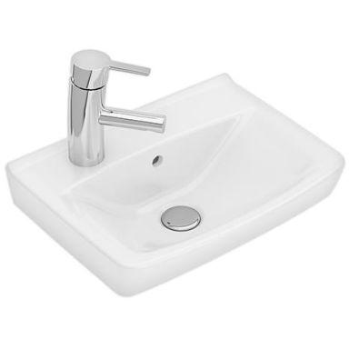Ifö Spira 15048 Tvättställ 41,5 cm, kranhål vänster