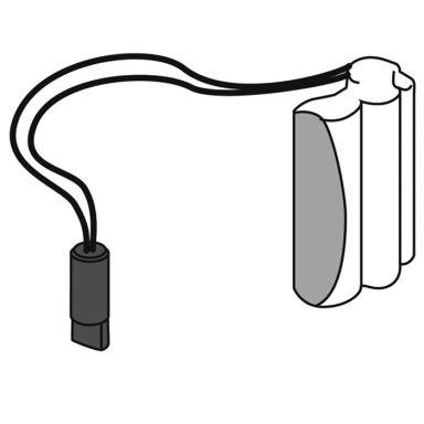 Gustavsberg GB4163856001 Batterisats för tvättställsblandare Logic