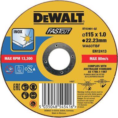 Dewalt DT43901 Kapskiva thin cutting