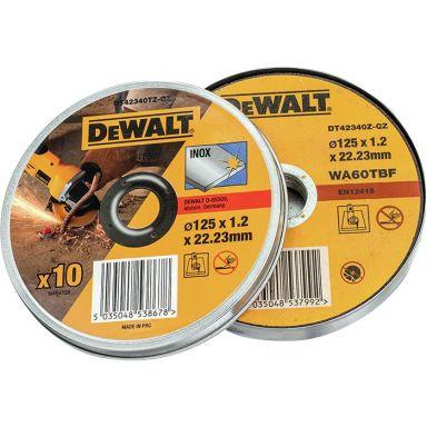Dewalt DT42340TZ Kapskiva fast cutting, 10-pack