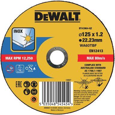 Dewalt DT43904 Katkaisulaikka thin cutting