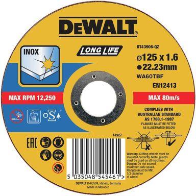 Dewalt DT43906 Kapskiva thin cutting